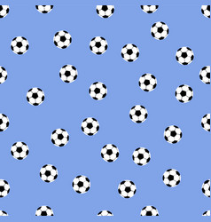 Background of soccer balls vector