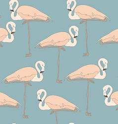 FlamingoStand13 vector image