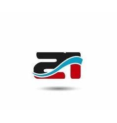 Number 20 swoosh design template logo vector