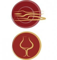 restaurant vector image vector image