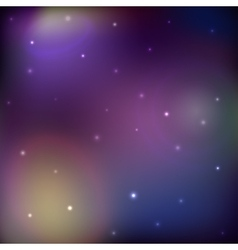 Space background galaxy and stars vector