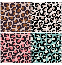 Seamless africa animal print vector