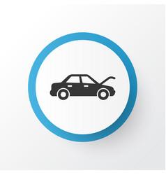 Auto hood icon symbol premium quality isolated vector