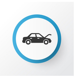 Auto hood icon symbol premium quality isolated vector