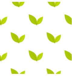 Leaf pattern seamless vector