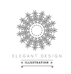 Logo template vector image vector image