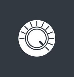 Volume button icon vector
