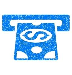 Atm cashout grainy texture icon vector