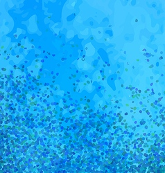 Abstract particle background vector