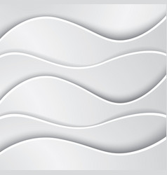 Abstract wave background made of paper vector