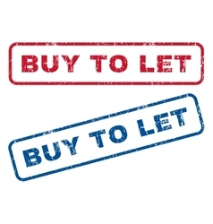 Buy to let rubber stamps vector