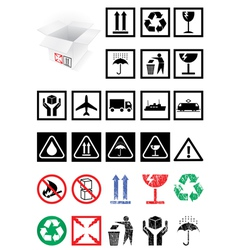 Packing symbols vector