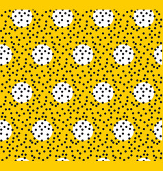 polka dot pattern seamless background vector image vector image
