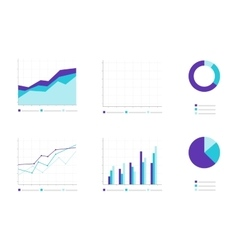 Set of Infographic Elements Business vector image