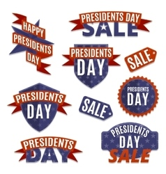 Presidents day set vector