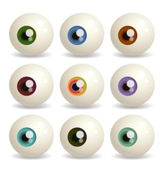 Eyeballs vector
