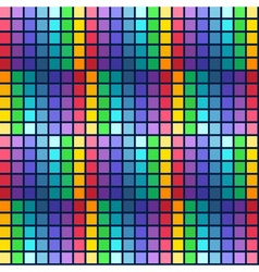 Abstract bright colorful seamless pattern rainbow vector