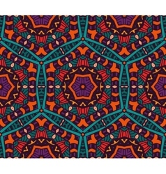 Abstract ethnic geometric pattern design vector