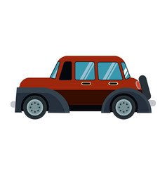 Classic car transport speed useful vector