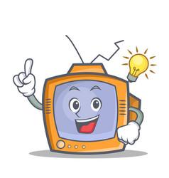 Have an idea tv character cartoon object vector