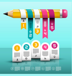 infographic layout infographics web design with vector image