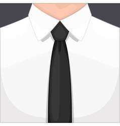Man in tie vector