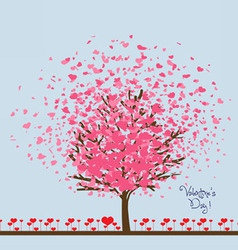 Valentine or wedding card vector image vector image