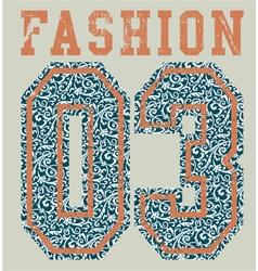 Fashion college vector image