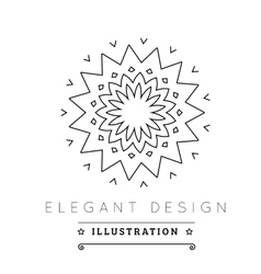 Logo template vector