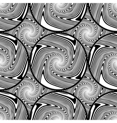 Design seamless monochrome ellipse background vector