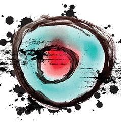 art grunge design background vector image vector image