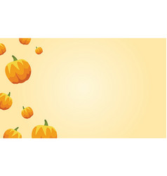Collection stock of pumpkin style thanksgiving vector