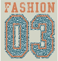 Fashion college vector image vector image