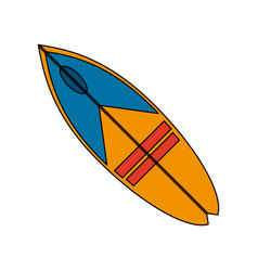 surfboard surf icon image vector image vector image