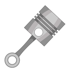 Piston icon cartoon style vector image vector image