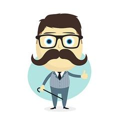 true gentleman vector image