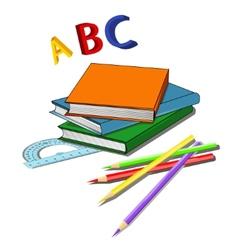 Various school properties - vector