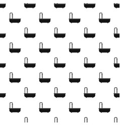 bathroom pattern vector image