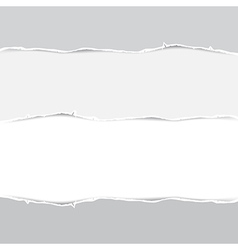 Torn papers background vector