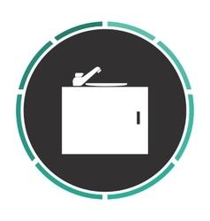 Sink computer symbol vector