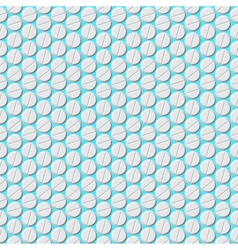 Medical pills pattern Eps8 vector image vector image