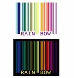 Upc-rainbow vector