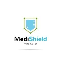 Medical organization logo healthcare creative vector