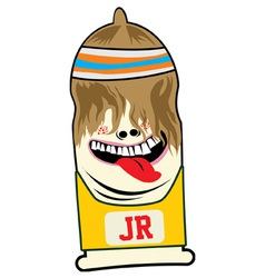Jerssey The Condoms vector image