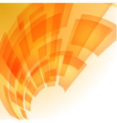 Abstract orange digital background for creative vector