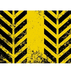 A grungy and worn hazard stripes texture eps 8 vector