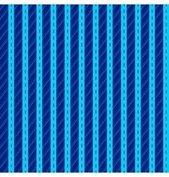 Pattern with blue vertical stripes vector image