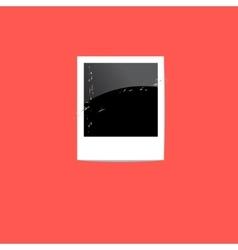 Polaroid snapshot vector