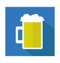 beer icon vector image vector image