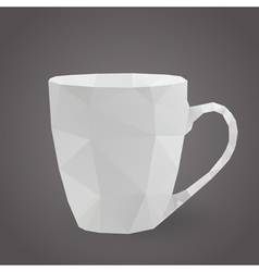 cup triangle vector image